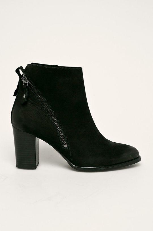 negru Caprice - Cizme de piele De femei