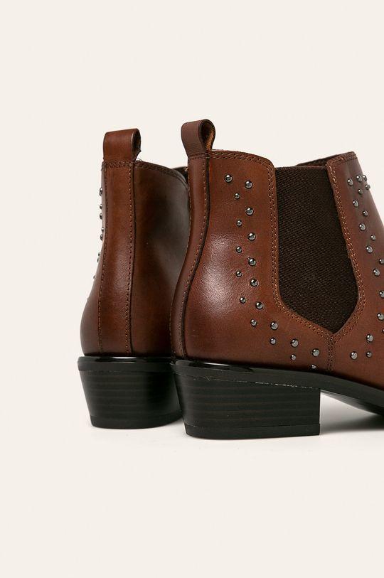 Caprice - Členkové topánky  Zvršok: Prírodná koža Vnútro: Textil Podrážka: Syntetická látka