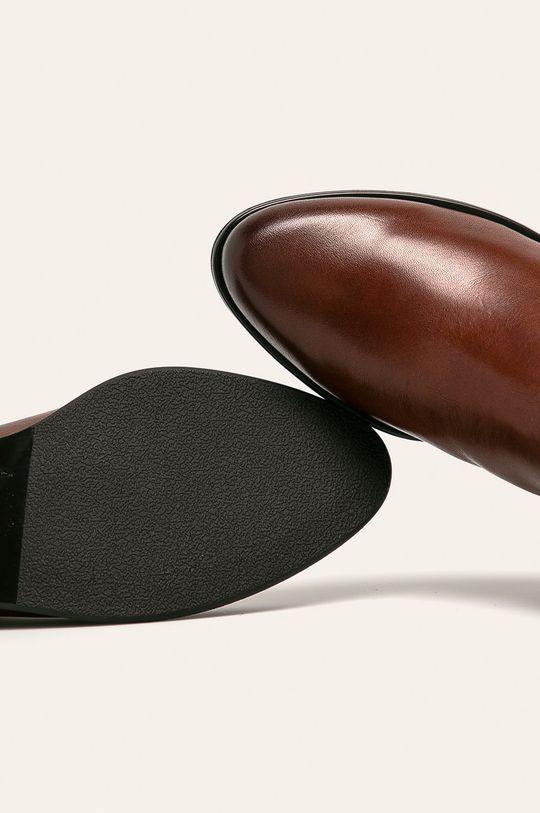 hnedá Caprice - Členkové topánky