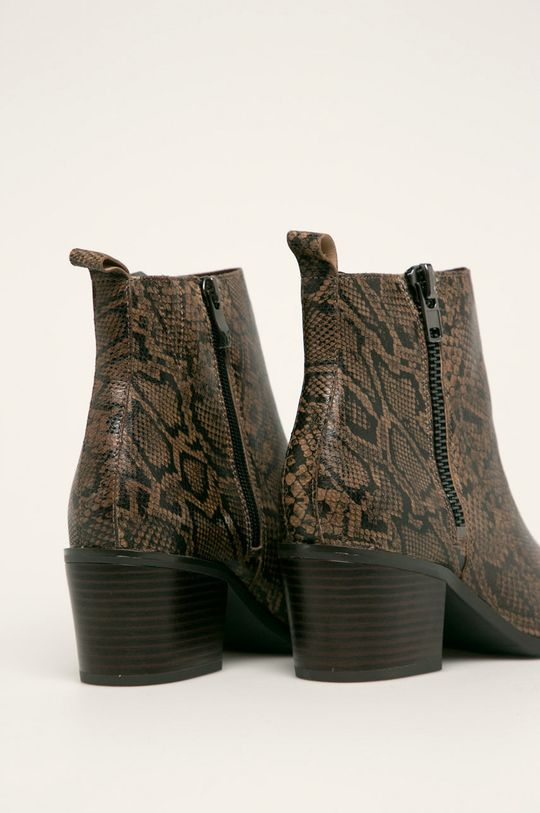 Caprice - Cizme de piele Gamba: Piele naturala Interiorul: Material textil Talpa: Material sintetic
