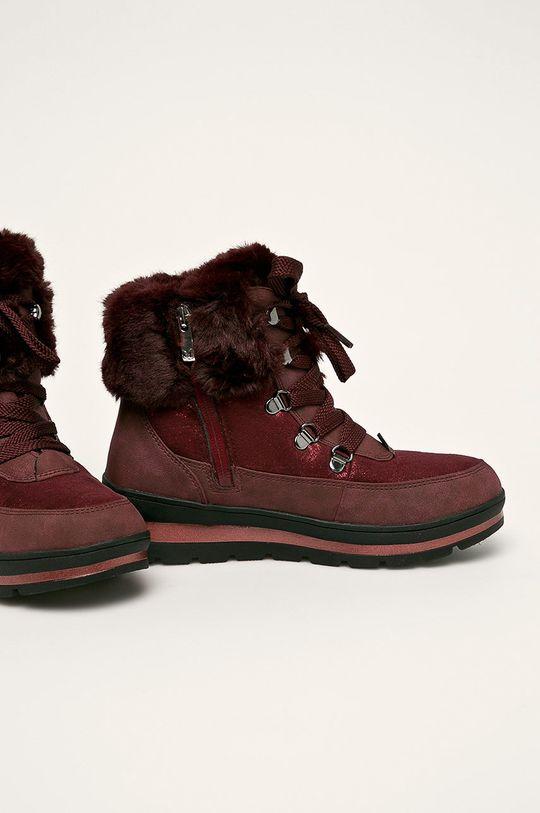 Caprice - Cizme de iarna castan