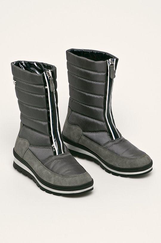 Caprice - cizme de iarna gri