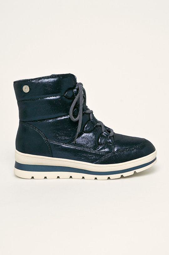 bleumarin Caprice - cizme de iarna De femei