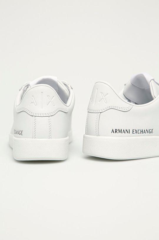 Armani Exchange - Kožená obuv  Zvršok: Prírodná koža Vnútro: Syntetická látka, Textil