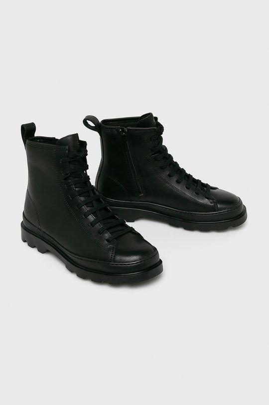 Camper - Členkové topánky čierna