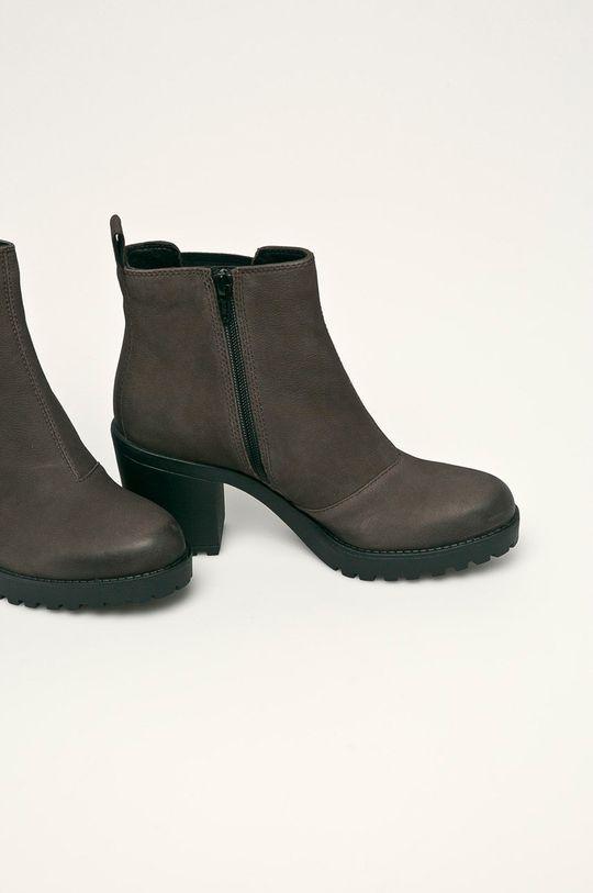 Vagabond - Členkové topánky Grace tmavohnedá