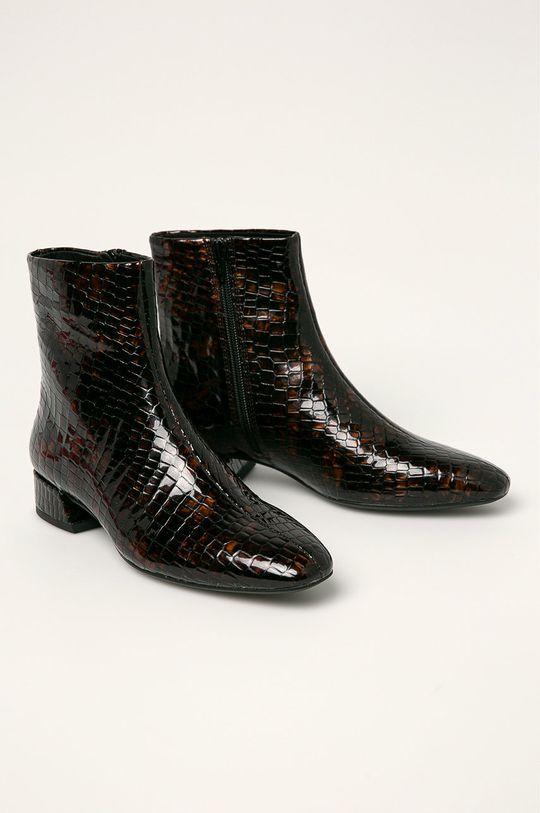 Vagabond - Шкіряні черевики Joyce коричневий