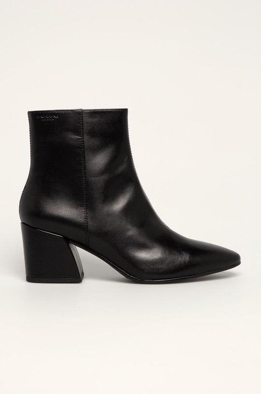 čierna Vagabond - Kožené členkové topánky Olivia Dámsky