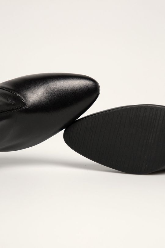 čierna Vagabond - Kožené členkové topánky Olivia