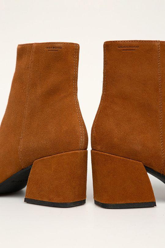 Vagabond - Cizme de piele Olivia Gamba: Piele intoarsa Interiorul: Material textil, Piele naturala Talpa: Material sintetic