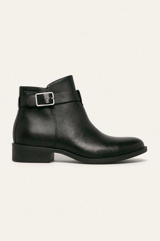 černá Vagabond - Kožené kotníkové boty Cary Dámský