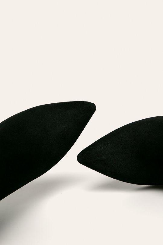 čierna Tamaris - Členkové topánky