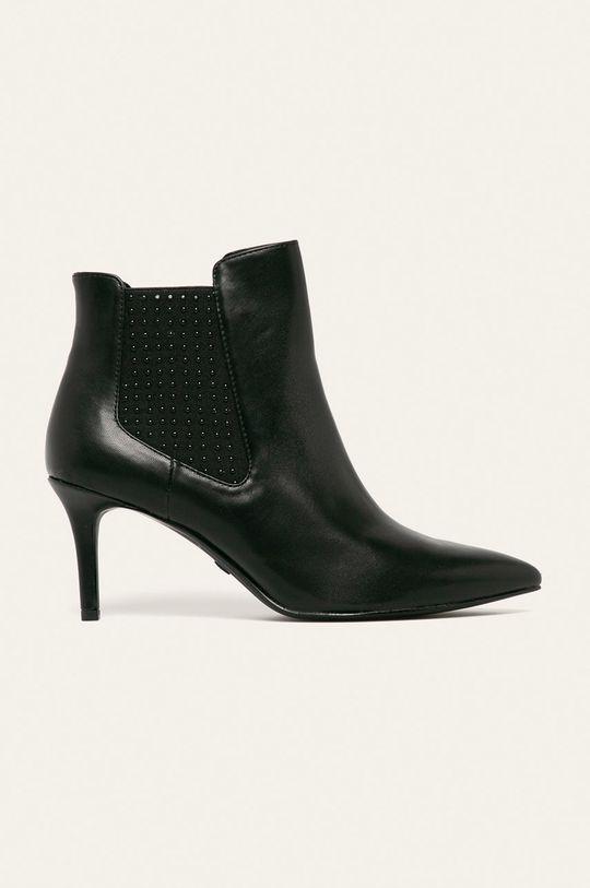 čierna Tamaris - Členkové topánky Dámsky