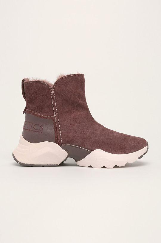 ružovofialová Tamaris - Členkové topánky Dámsky