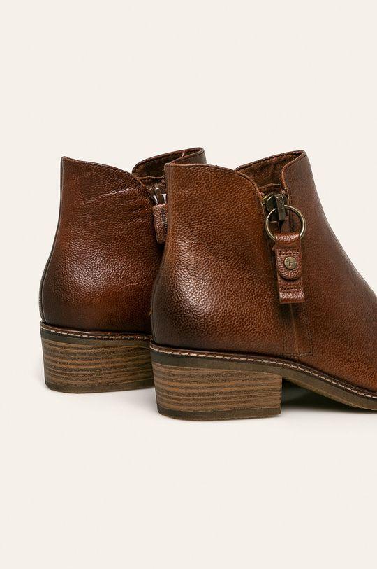 Tamaris - Členkové topánky  Zvršok: Prírodná koža Vnútro: Syntetická látka, Textil Podrážka: Syntetická látka