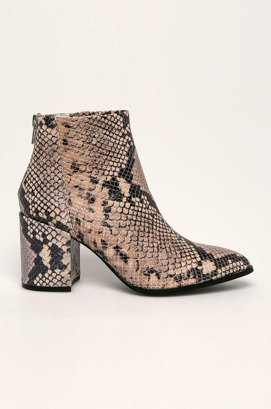 hnedá Steve Madden - Členkové topánky Jillian Dámsky