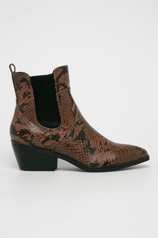 hnedá s. Oliver - Členkové topánky Dámsky