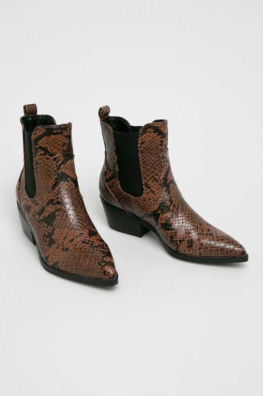 s. Oliver - Členkové topánky hnedá