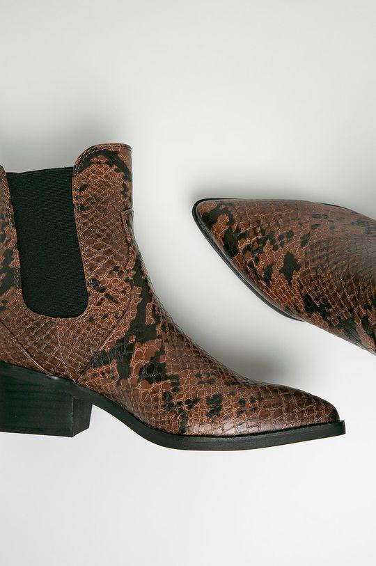 hnedá s. Oliver - Členkové topánky