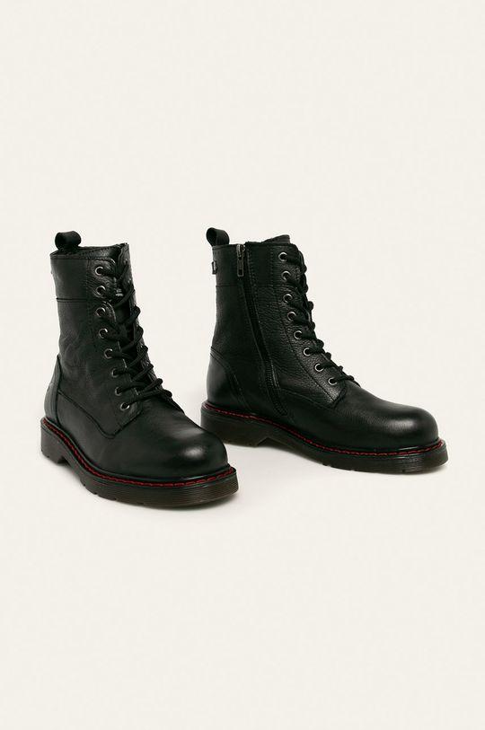Mustang - Členkové topánky čierna