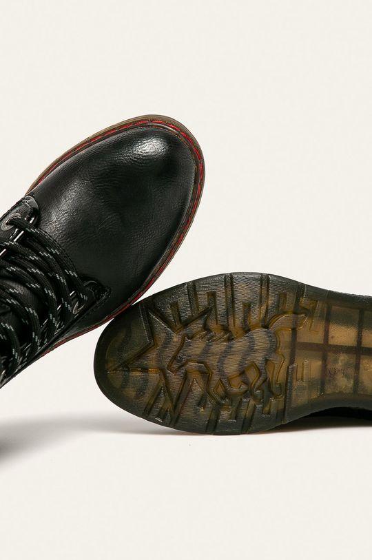 čierna Mustang - Členkové topánky