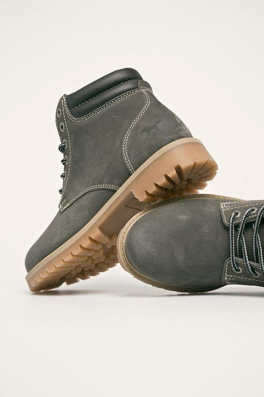 sivá Mustang - Členkové topánky