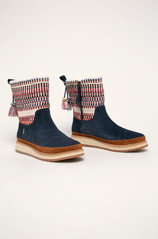 Toms - Cizme de iarna bleumarin