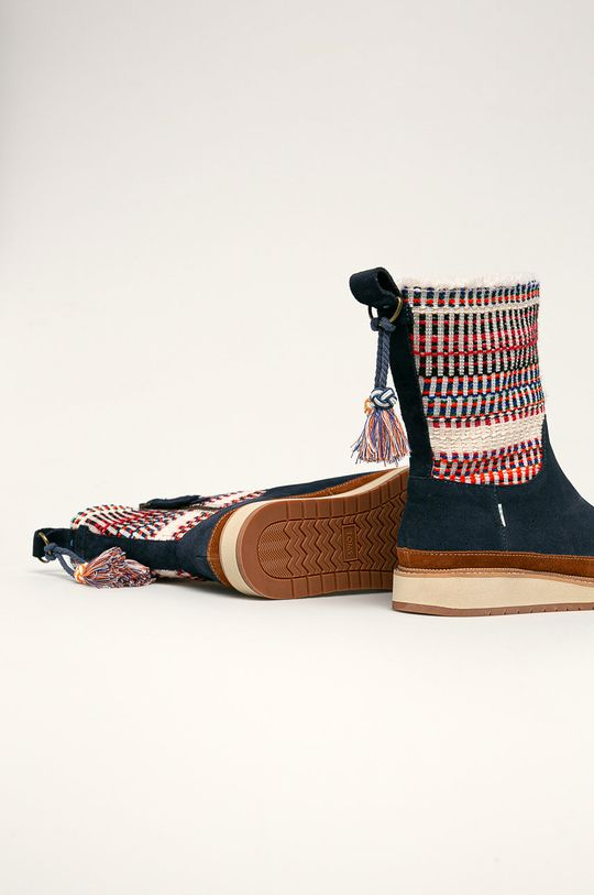 Toms - Cizme de iarna Gamba: Material textil, Piele naturala Interiorul: Material textil Talpa: Material sintetic