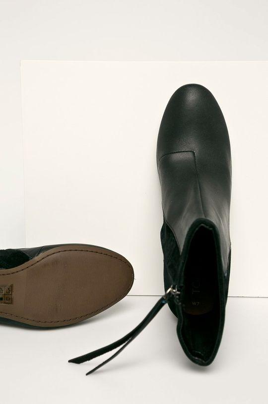 negru Toms - Cizme de piele Emmy