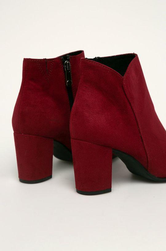 gaštanová Marco Tozzi - Členkové topánky