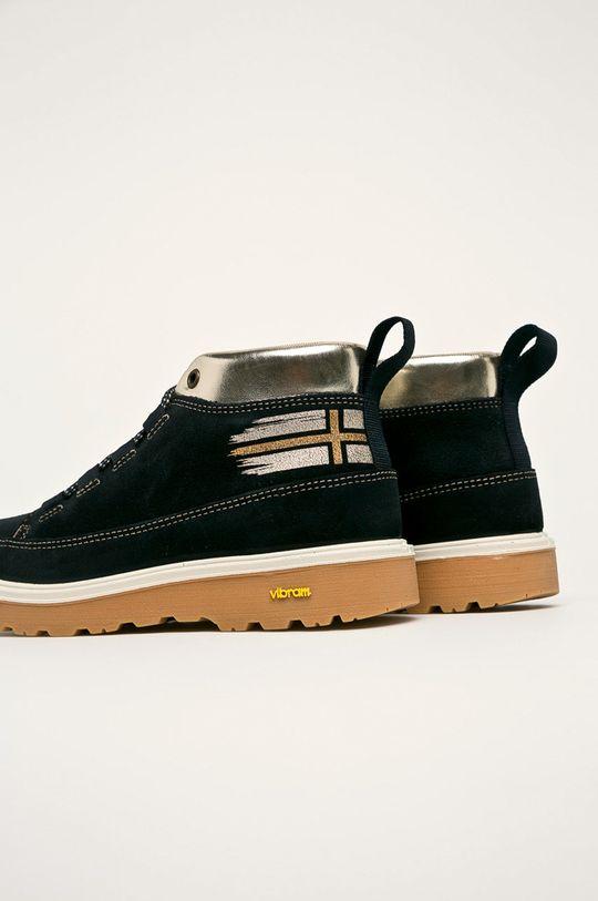 Napapijri - Členkové topánky  Zvršok: Semišová koža Vnútro: Textil Podrážka: Syntetická látka