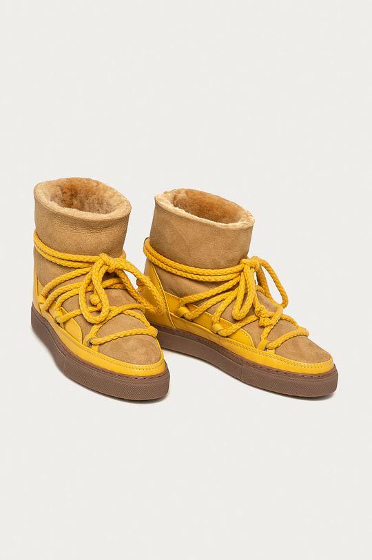Inuikii - Cizme de iarna galben