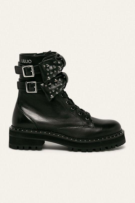 čierna Liu Jo - Členkové topánky Dámsky