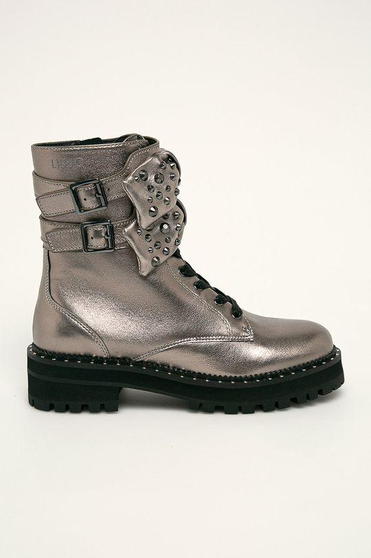 strieborná Liu Jo - Členkové topánky Dámsky