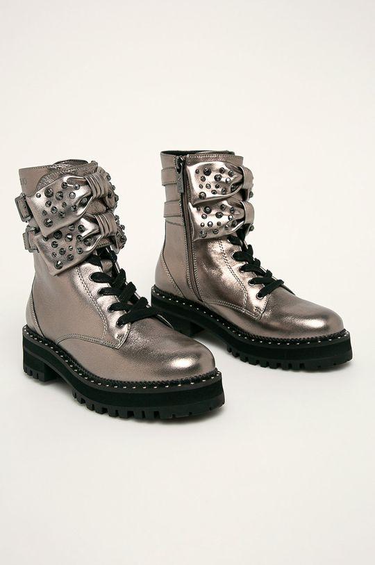 Liu Jo - Členkové topánky strieborná