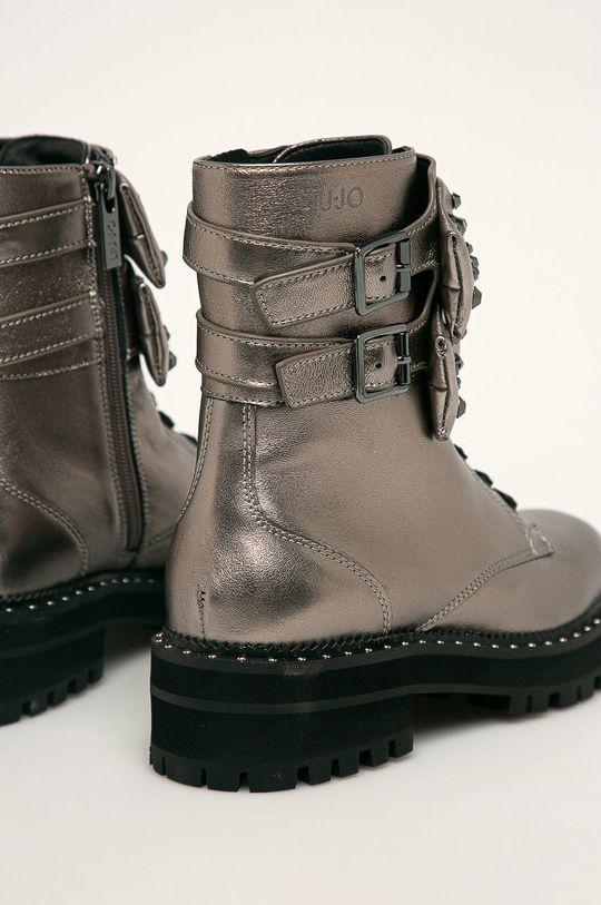 strieborná Liu Jo - Členkové topánky