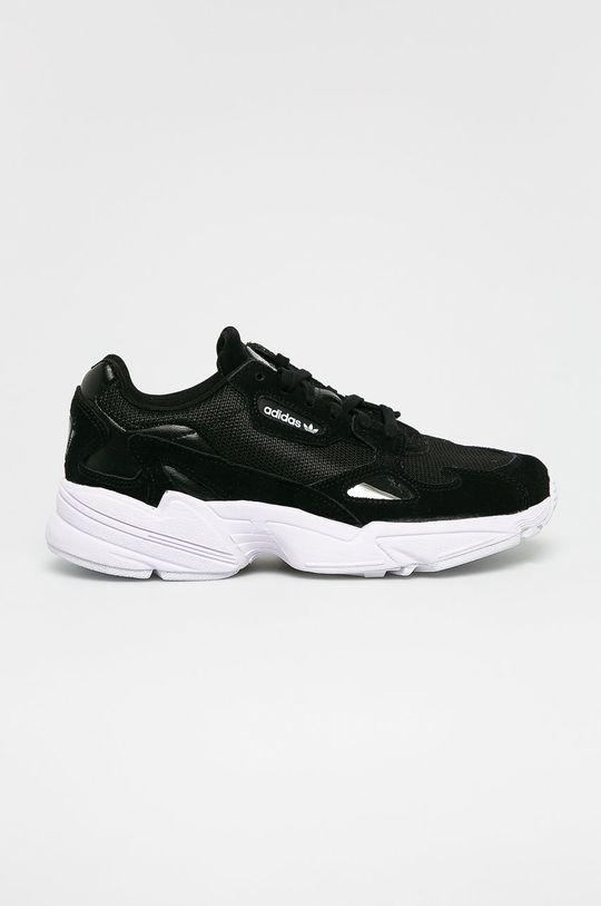 čierna adidas Originals - Topánky Falcon W Dámsky