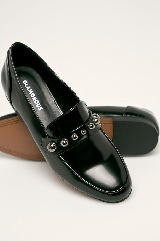negru Glamorous - Mocasini