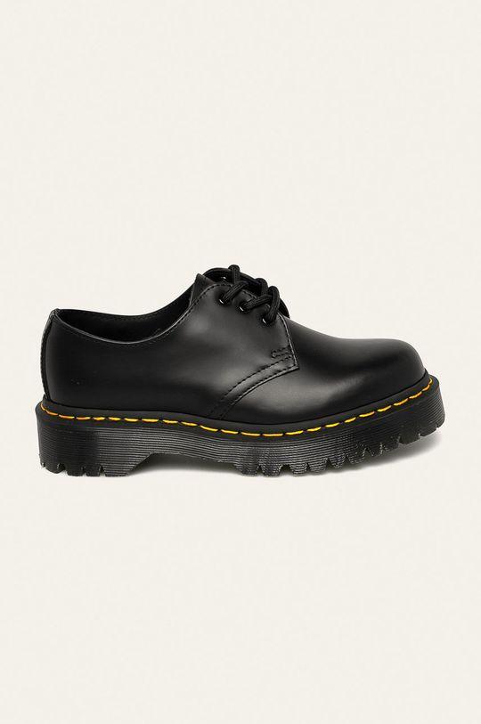 negru Dr. Martens - Pantofi de piele De femei