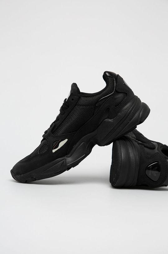 czarny adidas Originals - Buty Falcon