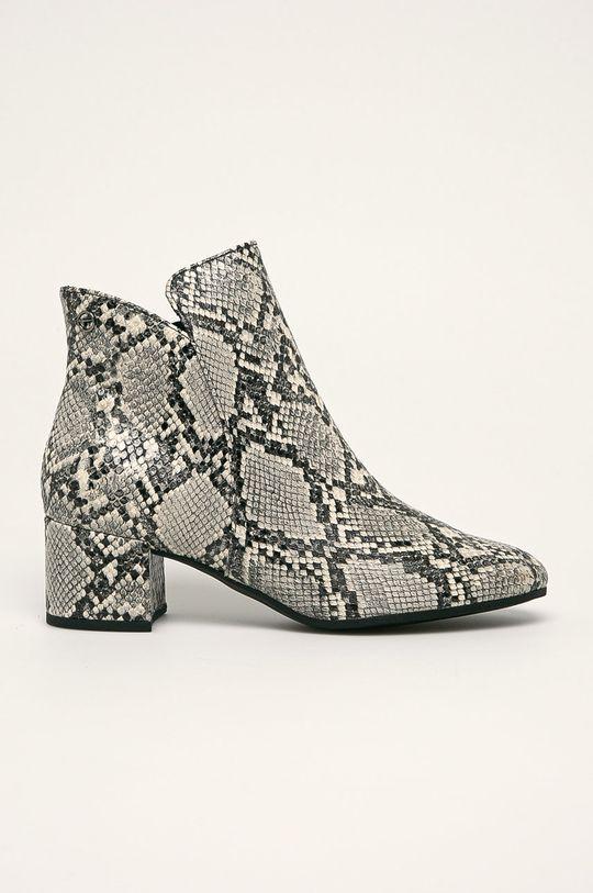 svetlosivá Tamaris - Členkové topánky Dámsky