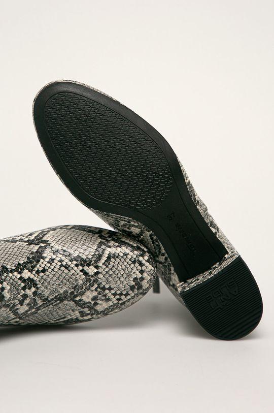 svetlosivá Tamaris - Členkové topánky