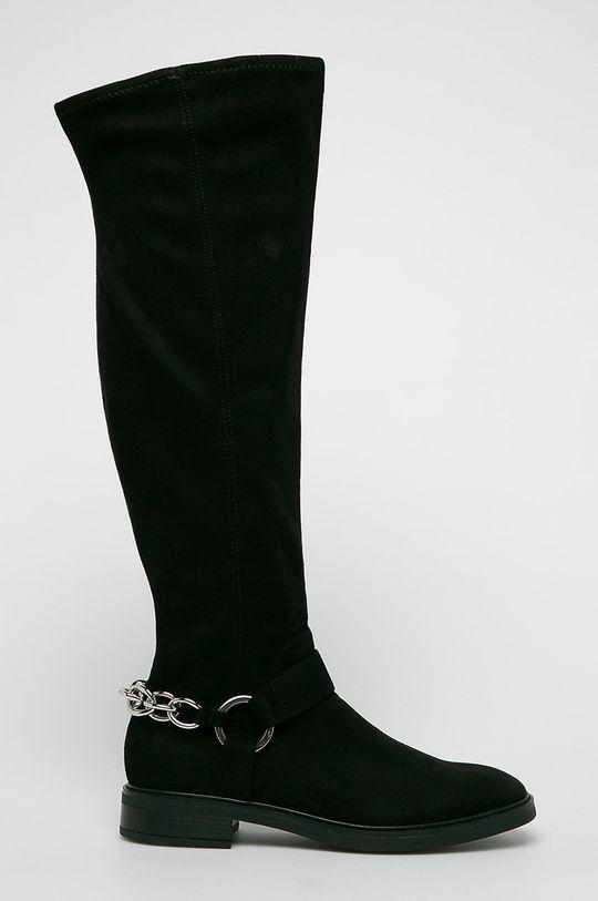 černá Calvin Klein - Kozačky Dámský