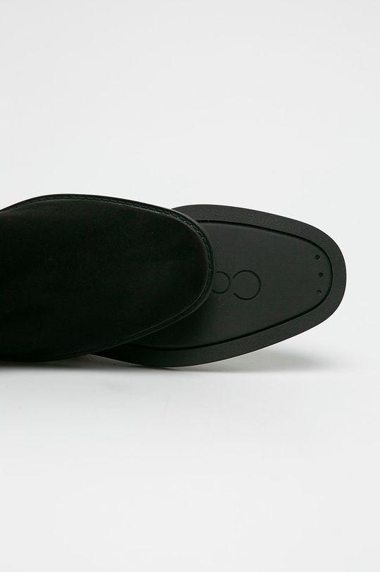 černá Calvin Klein - Kozačky