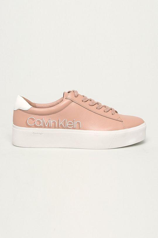 pastelově růžová Calvin Klein - Boty Dámský