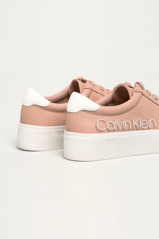 Calvin Klein - Boty Svršek: Umělá hmota, Přírodní kůže Vnitřek: Umělá hmota, Textilní materiál Podrážka: Umělá hmota