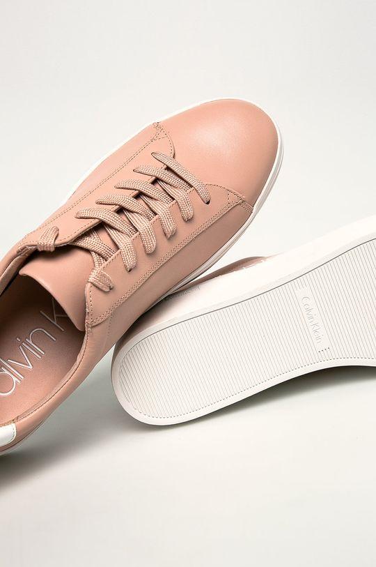 pastelově růžová Calvin Klein - Boty