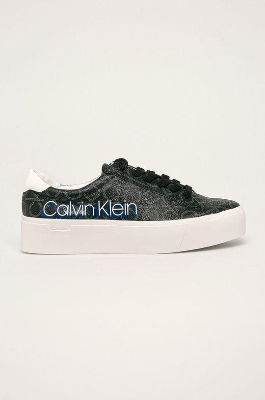 černá Calvin Klein - Boty Dámský