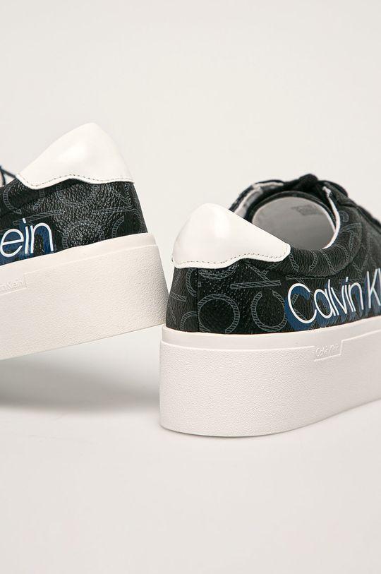 Calvin Klein - Boty Svršek: Umělá hmota Vnitřek: Umělá hmota, Textilní materiál Podrážka: Umělá hmota