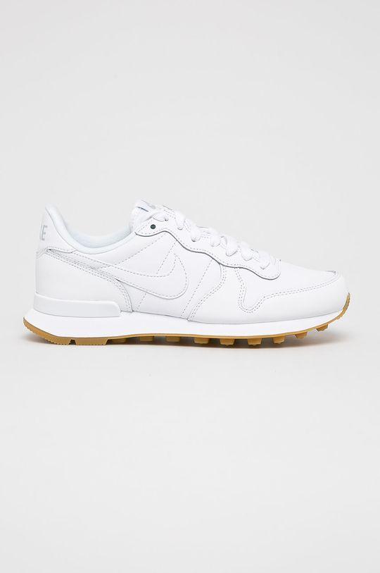 alb Nike Sportswear - Pantofi WMNS Internationalist De femei